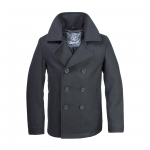 Brandit Pea Coat, Cabanjacke schwarz