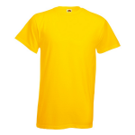 Fruit of The Loom T-Shirt yellow