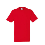 Fruit of The Loom T-Shirt red